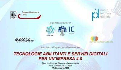 tecnologie abilitanti CCIAA banner