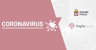 coronavirus regione puglia