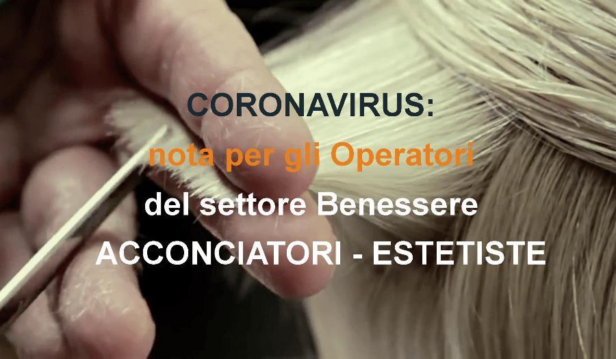 coronavirus categoria benessere