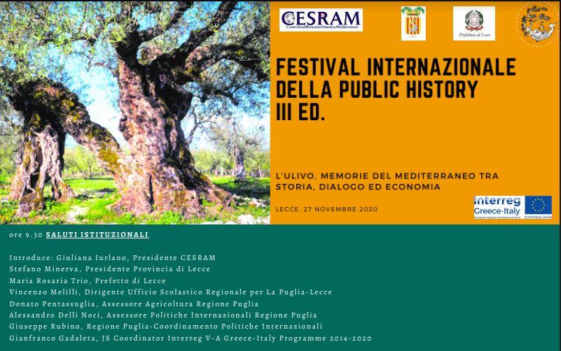 Festival internazionale della Public History