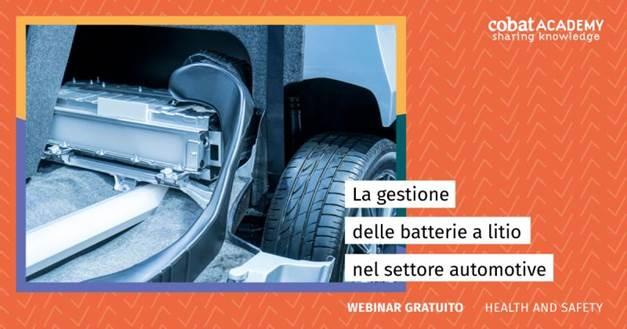 La gestione delle batterie a litio nel settore automotive